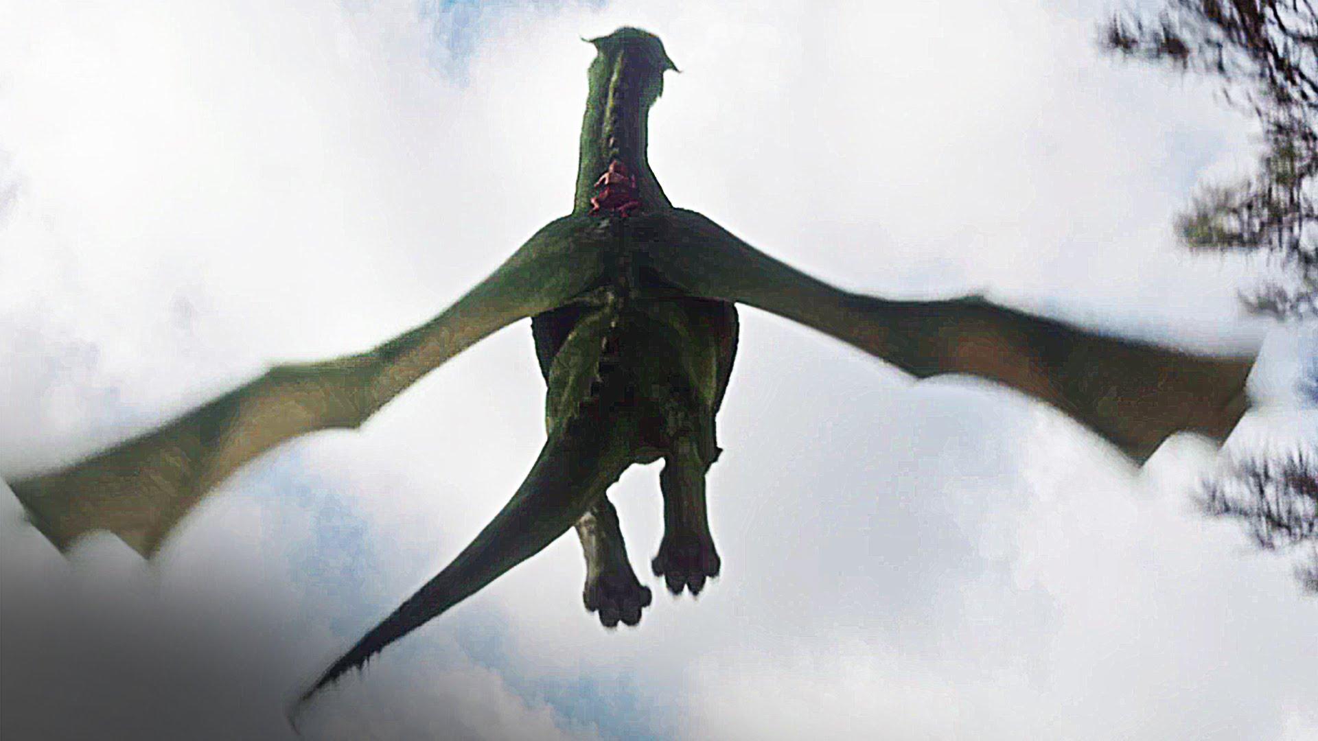 Pete's Dragon Scene