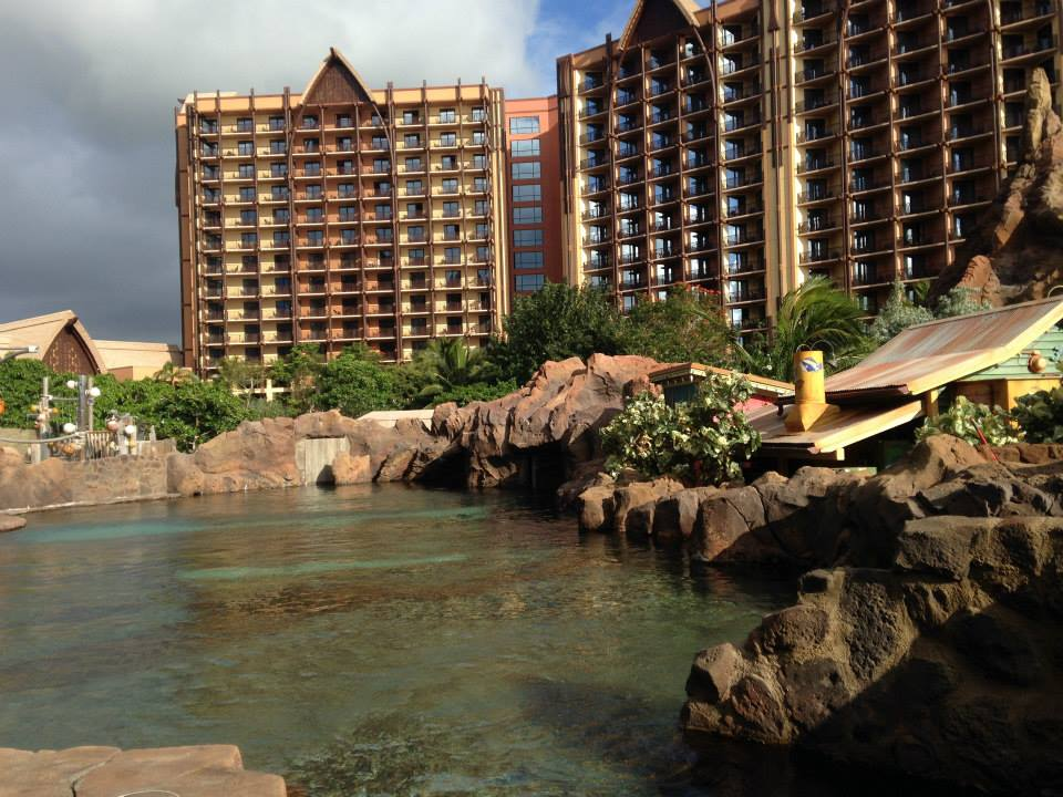aulani diving area
