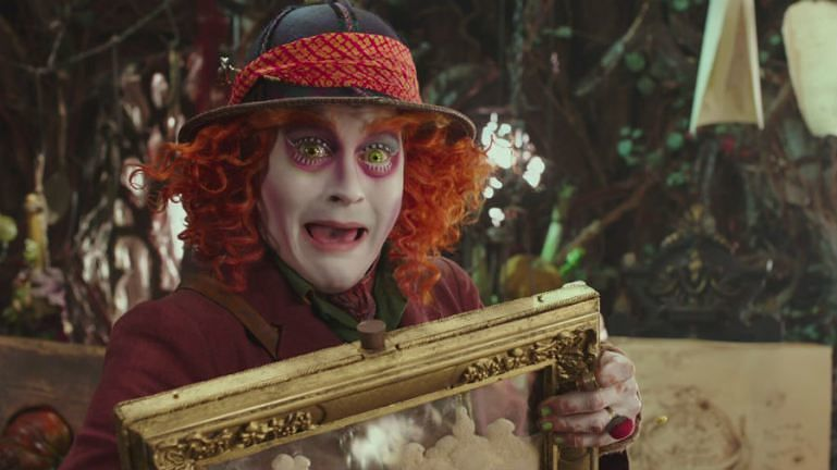 Johnny Depp as Mad Hatter