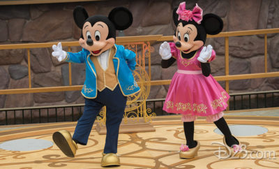 Minnie & Mickey Mouse Opening Day
