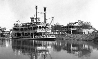Rivers of America Mark Twain River Boat