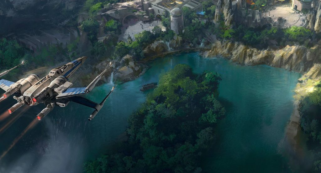 New Star Wars Land Water Ways