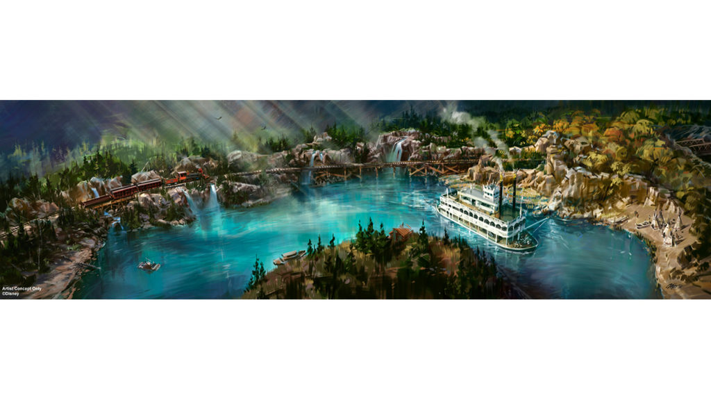Rivers of America Disneyland