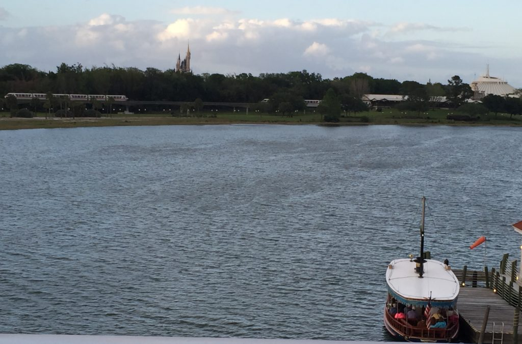Boats from Magic Kingdom to Grand Floridian