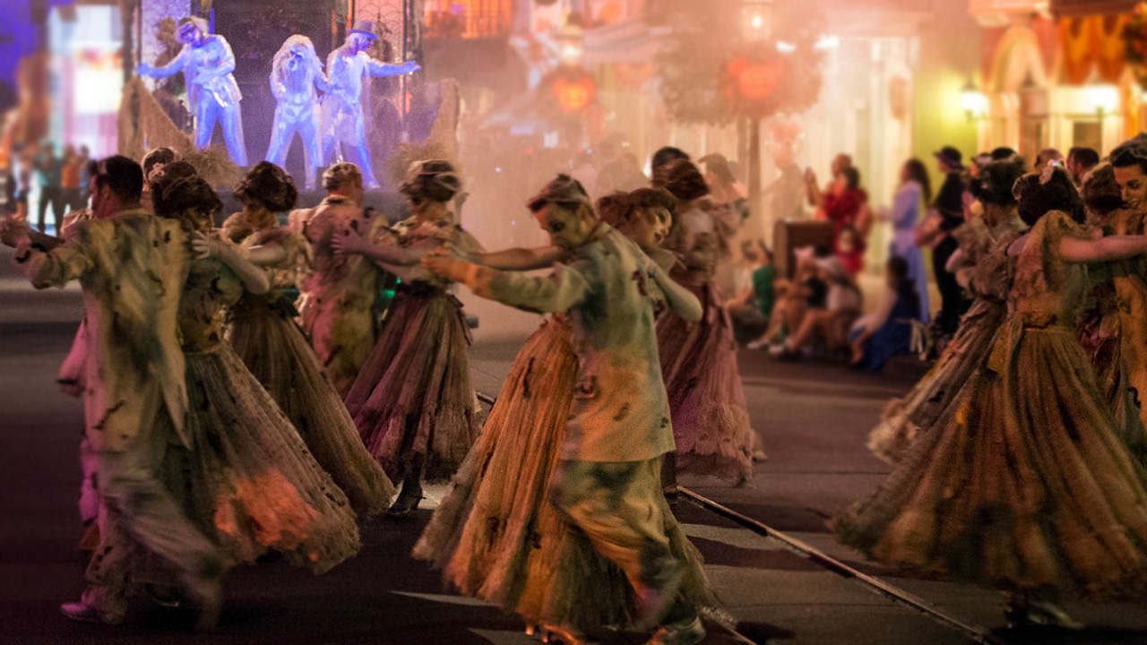 New Disneyland Halloween Parade