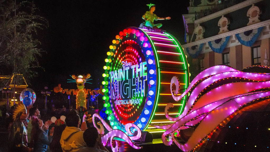 Paint the Night Parade Ending