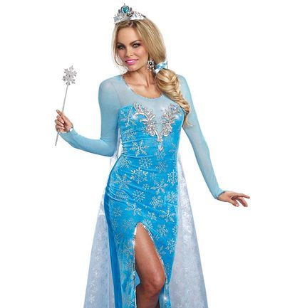 adult-elsa-costume  sc 1 st  Disney Princess : cheap adult princess costume  - Germanpascual.Com