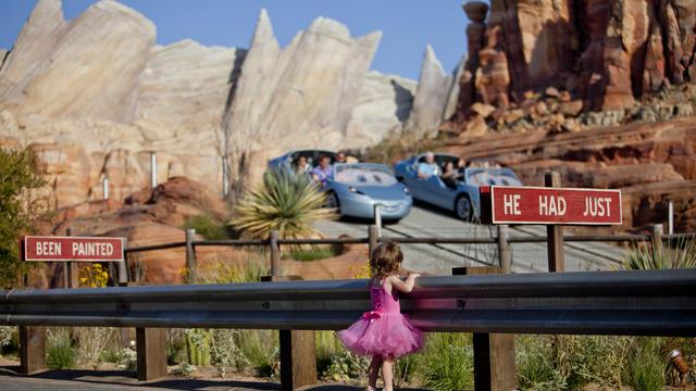 California Adventure Radiator Springs Attraction