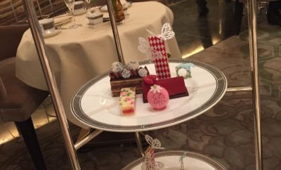 Langham London afternoon tea