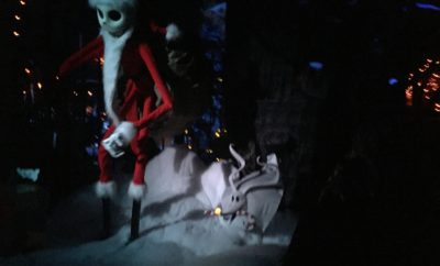 Inside the Haunted Mansion Holiday