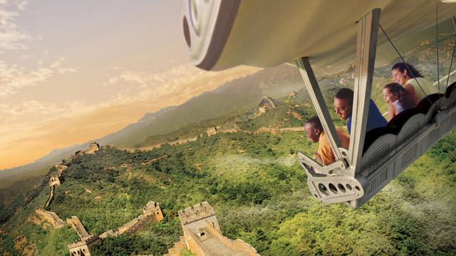 Soarin Over the World Attraction