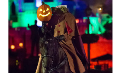 haunted horseman at Disneyland