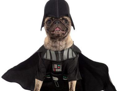 darth vador pet costume
