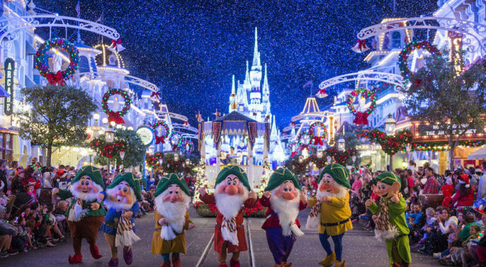 Christmas at Magic Kingdom Park