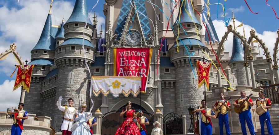 Princess Elena During her Coronation at Magic Kingdom Park