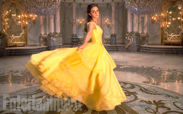 Live action movie Belle's dress