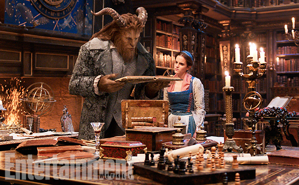 The Beast in the live action Beauty and the Beast
