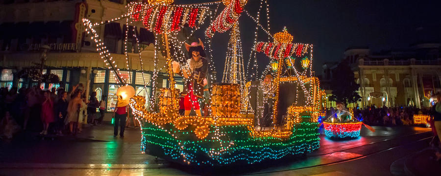 Special Main Street Electrical Parade event