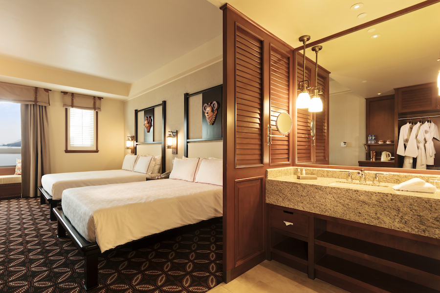 Hong Kong Disney Resort Guest Rooms