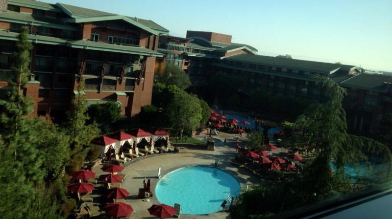 Disney's Grand Californian Hotel and Spa Pool